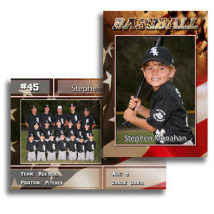 trading cards, flashback, orange park sports photographer